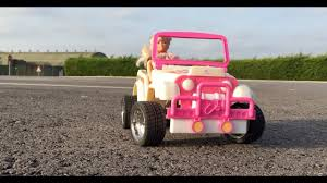 vintage barbie jeep worlds best dad tamiya street barbie rc conversion rollin on