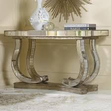 hooker furniture console table hooker furniture melange antique mirror console table consoles