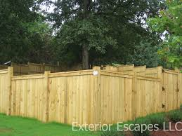 wood fences greenville sc south carolina exterior escapes