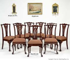 Chippendale Dining Room Chairs Hap Moore Antiques Auction February 26 2005