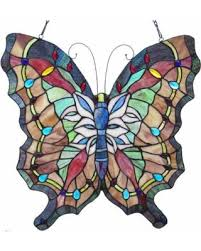 stained glass butterfly l memorial day sales on chloe lighting papilio stained glass