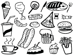 food coloring pages 67 packed with food coloring pages printable