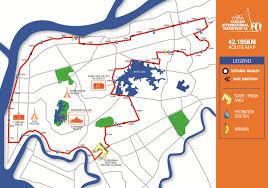 Marathon Route Map by Yangon Marathon Route And Road Closures Announced Myanmar