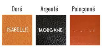 sous bureau personnalisable trousse carrée personnalisée en cuir le site du cuir