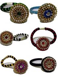 hair bands online buy silk thread hair bands with grand work online at low prices in