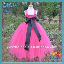 crochet headband tutu hot pink toddler girl wedding party dress 2014 fashion layers kids