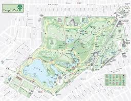 Brooklyn Ny Map Prospect Park Map Prospect Park Brooklyn New York U2022 Mappery