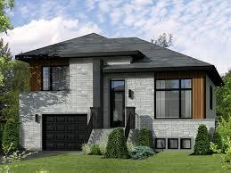 split level style e plans contemporary modern house plan split level two bedroom