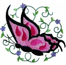 butterfly4 butterfly machine embroidery design butterfly machine