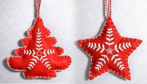 felt ornaments diy crafts dot
