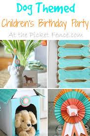 thanksgiving point birthday party dog themed children u0027s birthday party
