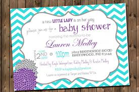 top 14 purple and teal baby shower invitations which viral in 2017