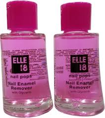 elle 18 nail polish remover set of 2 price in india buy elle 18