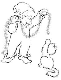 christmas coloring pages christmas elves
