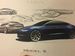 tesla motors model 3 specs 2017 2018 autoevolution