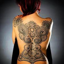 amazing lace tattoo designs by husband and wife tattoo artists 20