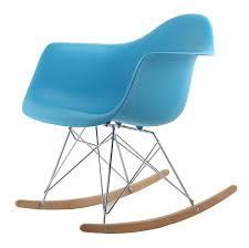 hnnhome eames inspired rar lounge retro rocker rocking chair