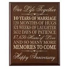 ten year anniversary gifts cheap 10 year anniversary gifts for women find 10 year
