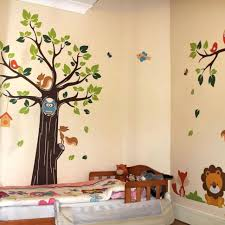 Jungle Nursery Wall Decor Baby Room Agreeable Jungle Baby Nursery Room Design And