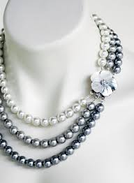 silver necklace with pearls images 38 best necklaces images jpg