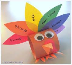 preschool co op thanksgving activities turkey craft construction