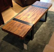 coffee tables simple teak bench industrial wood crate and barrel
