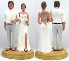 custom wedding cake toppers custom wedding cake topper and groom cake topper