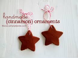 handmade cinnamon ornaments recipe cinnamon ornaments cinnamon