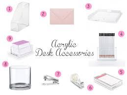 Acrylic Desk Accessories Jolies Fraises Acrylic Desk Accessories