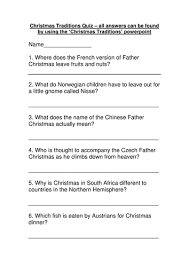 christmas traditions around the world by ngflcymru teaching