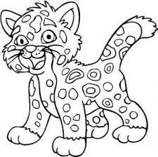 coloriage bebe jaguar pour imprimer coloriage bebe jaguar plume power