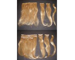 clip on extensions skin wefted clip on extensions 185 00 human hair extensions