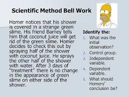 scientific method bell work 8 25 14 ppt video online download