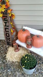 Outdoor Fall Decor Outdoor Fall Decor Vignette My Own Home