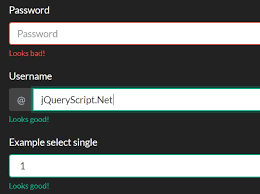 parsley pattern js jquery form validation plugins jquery script