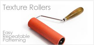 pattern paint roller online india texture rollers for clay the ceramic shop