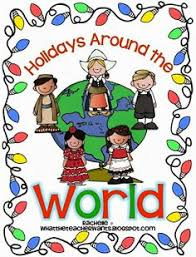 holidays around the world free report project template for