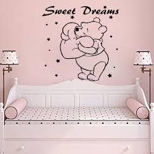 winnie the pooh wall art vinyl decals home decor nursery bedroom