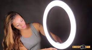 circle light for video ephoto r640 18 led video ring light giveaway cheesycam