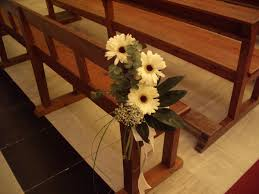 pew decorations for weddings pew flowers for wedding 25 attractive pew decorations for weddings