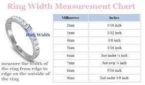 wedding ring sizes wedding ring guide for brides my wedding ring