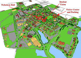 Wright State University Campus Map by Louisiana State University Campus Map Map