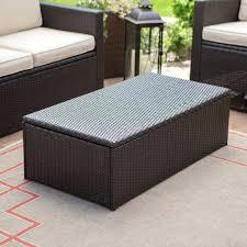 brown leather ottoman storage bench brown essex medium rectangular