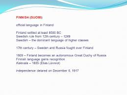 Finnish Language Meme - language and culture ppt download