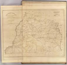 Blank Sc Map by Edgefield District South Carolina David Rumsey Historical Map
