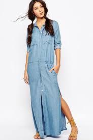light blue long sleeve dress light blue pockets accent side slit shirt dress 020622 long