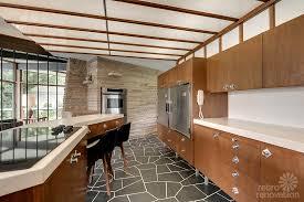 Midcentury Modern Kitchens - cozy mid century kitchen on kitchen with mid century modern