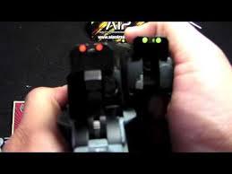 aip fiber optic sights set review