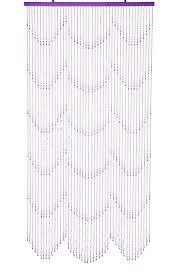 amazon com shopwildthings beaded raindrops purple acrylic