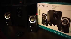 speaker home theater murah logitech z313 review indonesia youtube